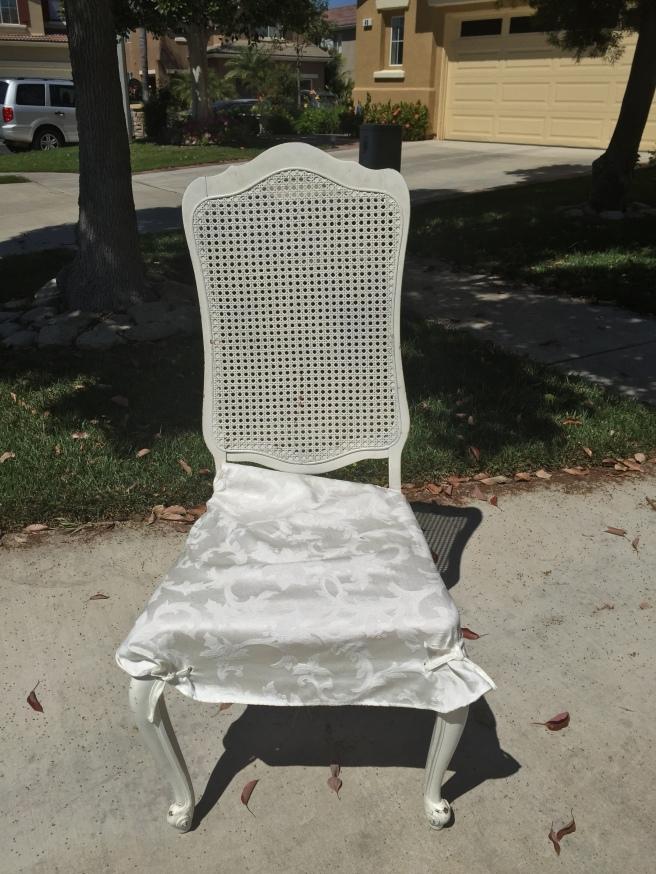 Foto feita com meu celular, no dia em que peguei a cadeira